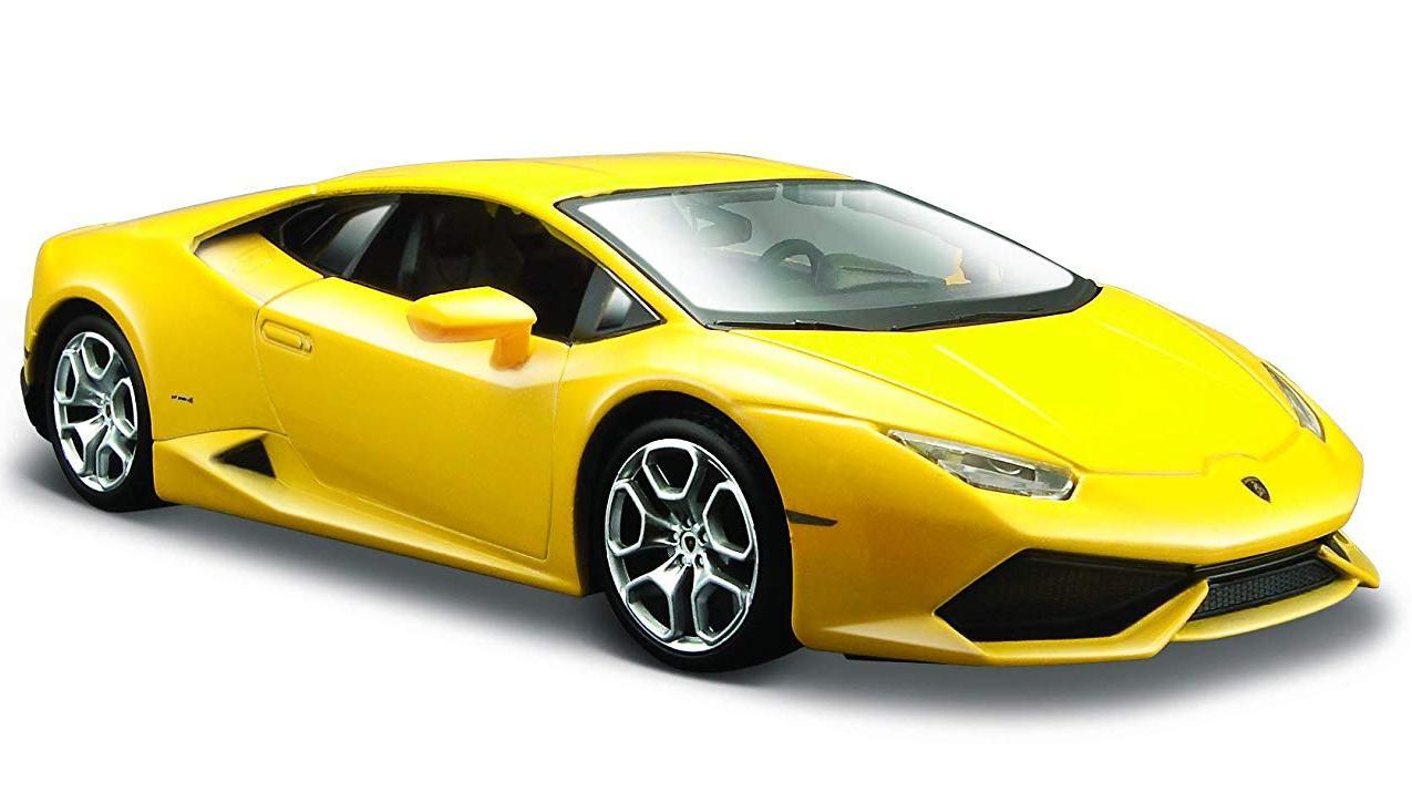 Купить Машинка Maisto желтая - Lamborghini Huracan LP610-4 2014г 1:24, Игрушечные машинки