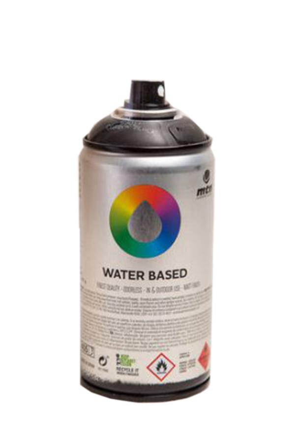 Аэрозольная краска Mtn Water-Based черный карбоновый 100 мл фото