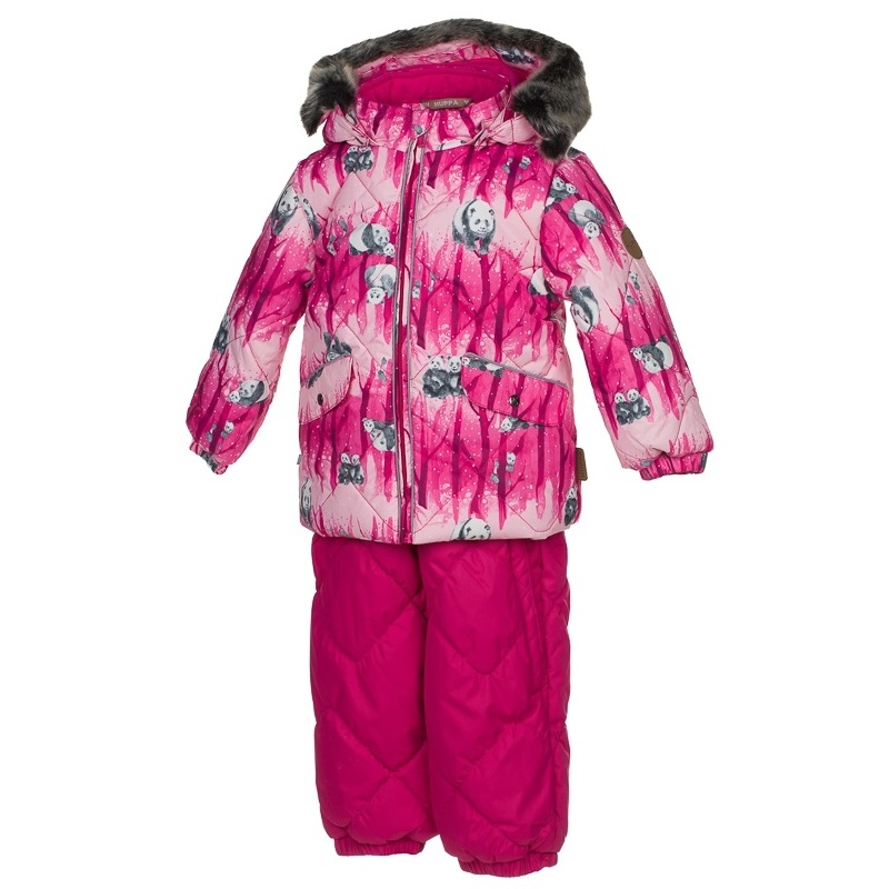 Комплект верхней одежды Huppa, цв. розовый р. 80 Noelle