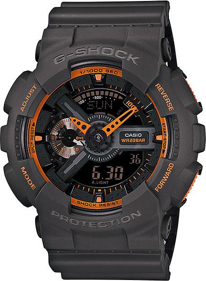 Японские наручные часы Casio G-Shock GA-110TS-1A4 с хронографом фото