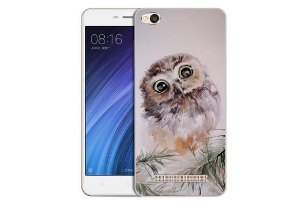 Чехол Gosso Cases для Xiaomi Redmi 4A  «Совенок»