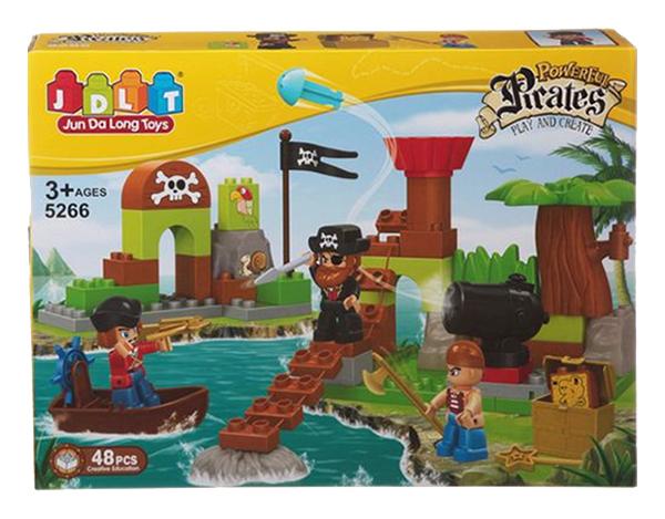 Купить Конструктор Pirates, 48 деталей JDLT, Конструкторы пластмассовые
