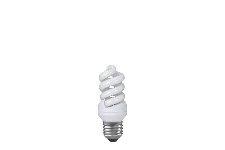 Лампа энергосбер. Спираль 9W E27 теплый белый 88014