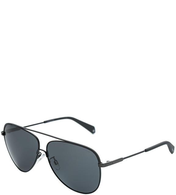 Солнцезащитные очки мужские Polaroid PLD 2054/F/S 003 M9, черный фото