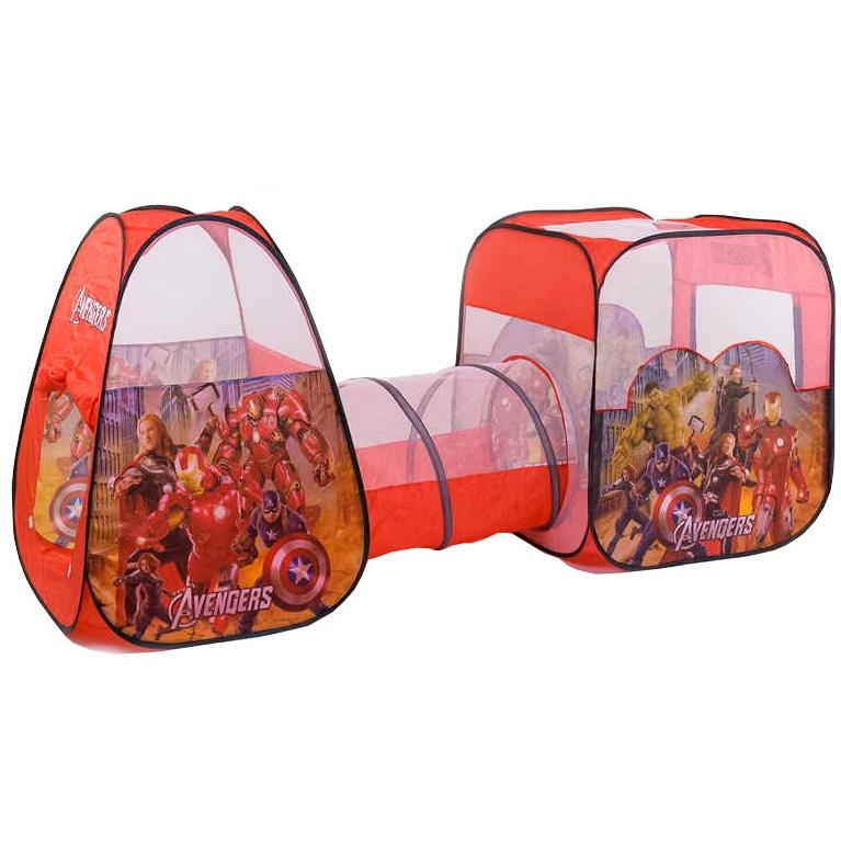 Купить Игровая палатка с тоннелем B.Kids 8015JN супер герои, Игровые палатки