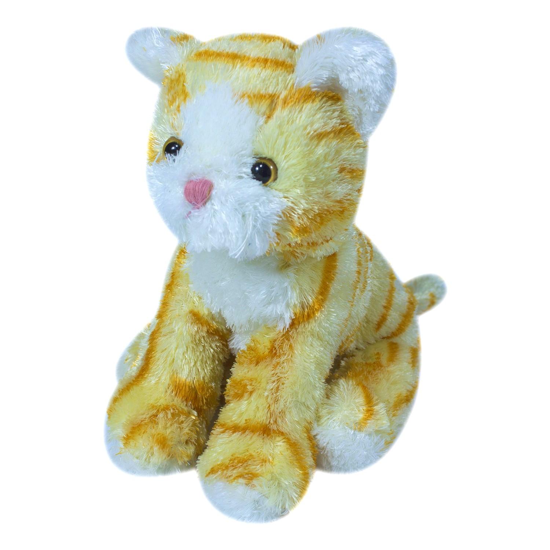 Купить Мягкая игрушка Teddykompaniet котенок, рыжий, 23 см, 1778, Мягкие игрушки животные