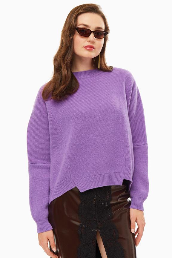 Джемпер женский Pinko фиолетовый