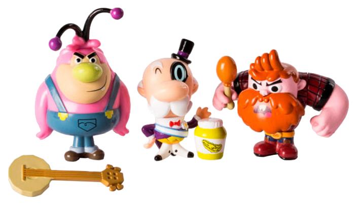 Купить Игровой набор Spin Master Powerpuff Girls Три фигурки обитателей города 5 см, Игровые наборы