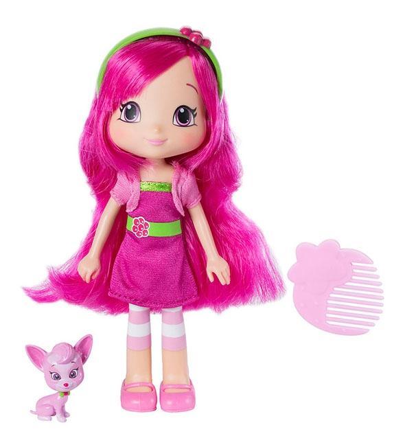 Купить Кукла Strawberry Shortcake Малинка с питомцем, 15 см, Классические куклы
