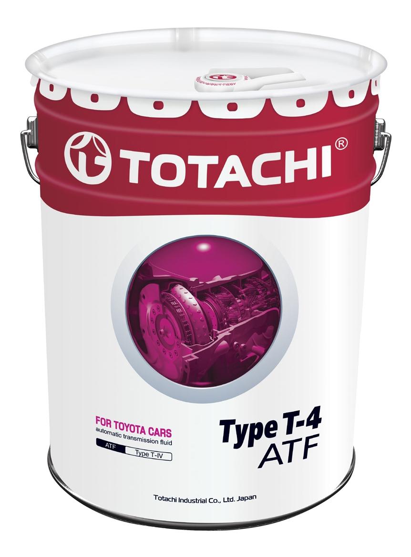 Трансмиссионное масло TOTACHI ATF TYPE T-IV 20л 4562374691032 фото