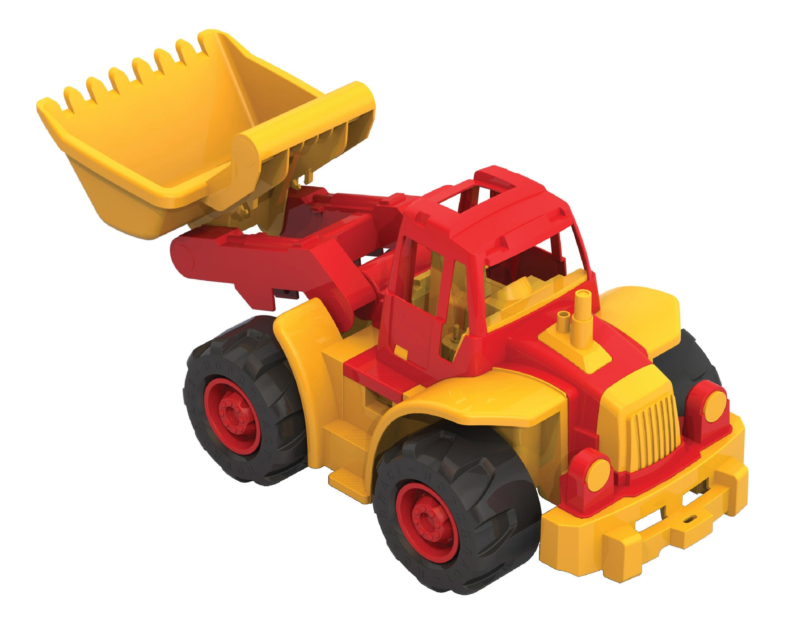 Купить 'Богатырь' мини с грейдером, Трактор Нордпласт Богатырь мини с грейдером, НОРДПЛАСТ,