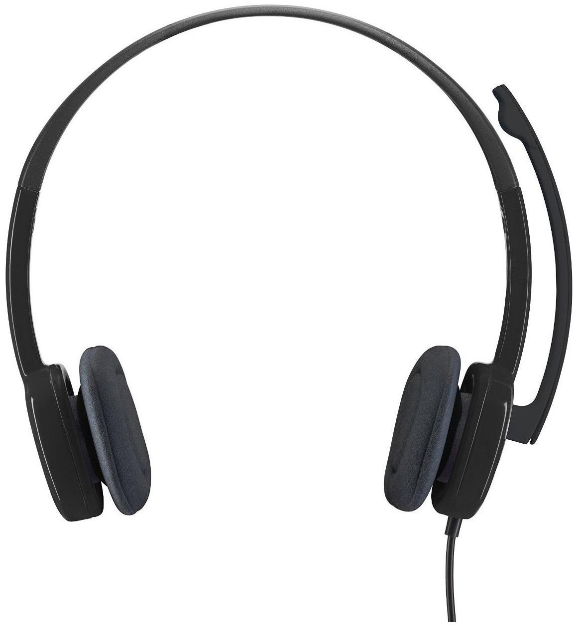 Гарнитура для компьютера Logitech Logitech® Stereo Headset H151 Black фото