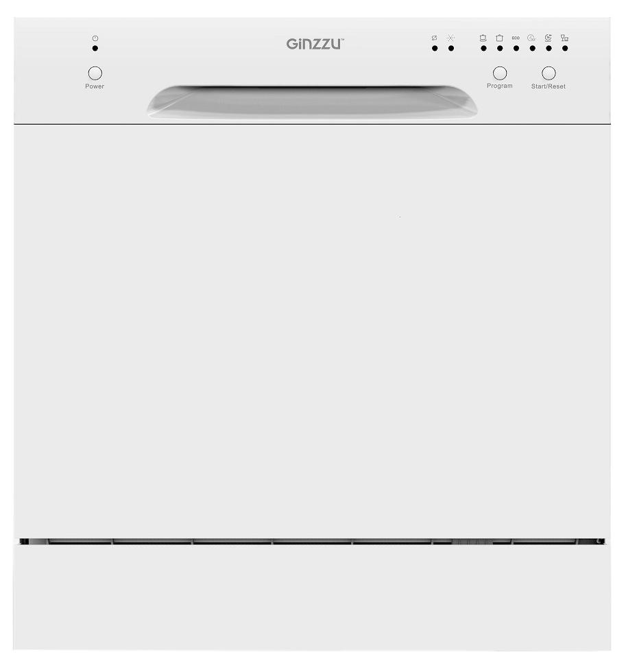 Посудомоечная машина компактная Ginzzu DC281 white