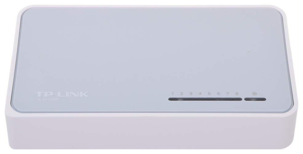 Коммутатор TP LINK TL SF1008D White