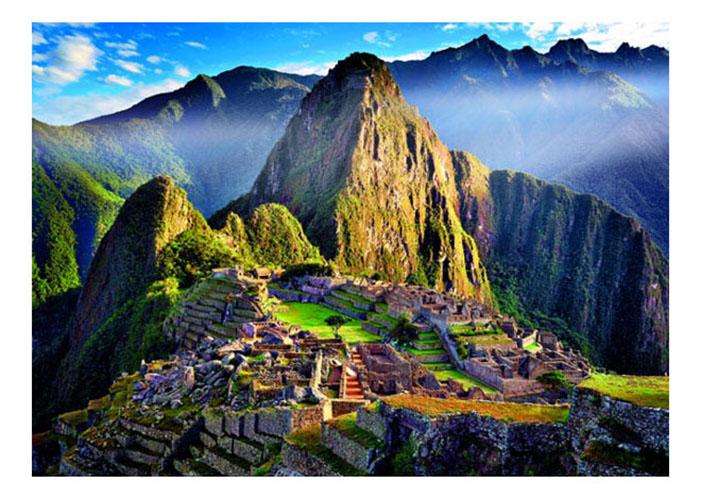 Пазлы «Старинное святилище Мачу-Пикчу», 500 деталей