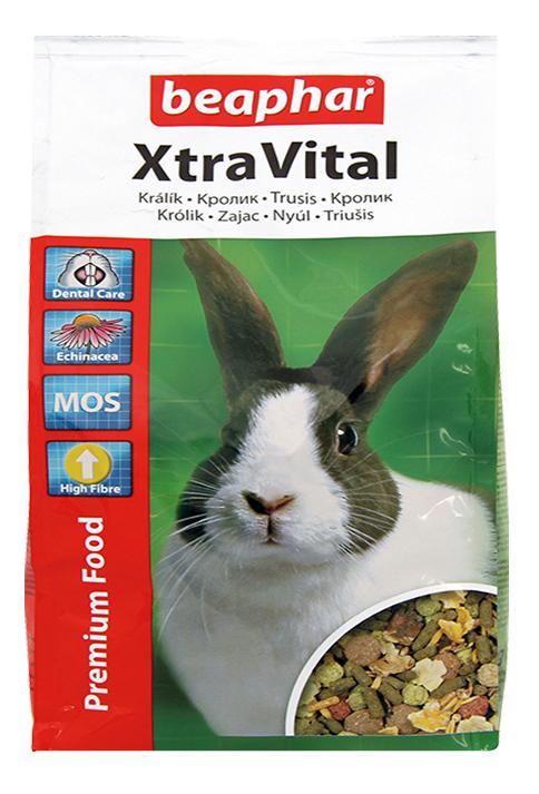 Корм для кроликов Beaphar XtraVital 2.5 кг 1 шт