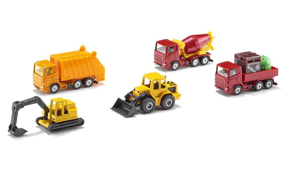 Купить Набор №1 Машины 6283, Спецтехника Siku игрушка машины 6283, Строительная техника