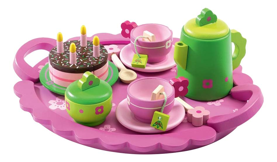 Набор посудки Djeco День рождения