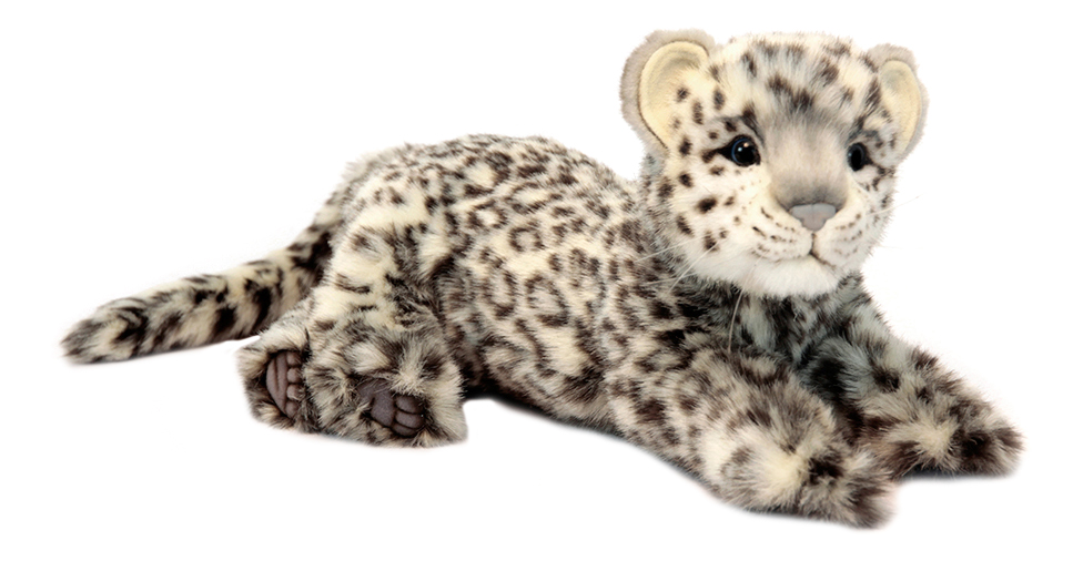 Купить Леопард лежащий 56 см, Мягкая игрушка Hansa Леопард Лежащий 56 см, Мягкие игрушки животные