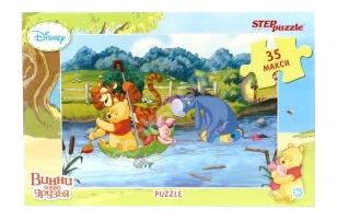 Купить Пазл Step Puzzle Maxi Disney Медвежонок Винни 35 элементов, Пазлы
