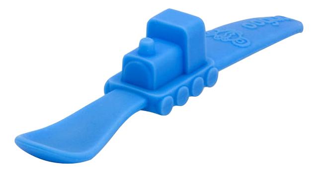 Ложка детская Oogaa Ложка голубая в форме поезда фото