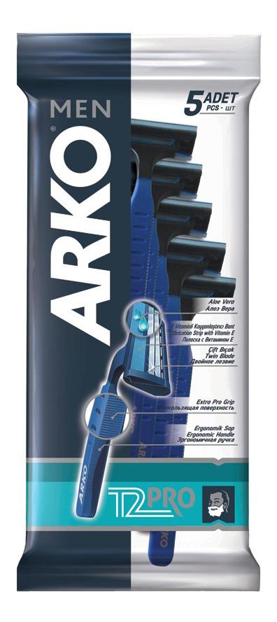 Станок для бритья ARKO MEN T2 PRO 5 шт