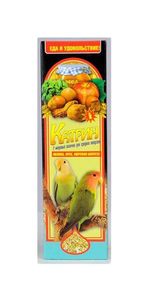Подкормка Катрин для попугаев 100 г,