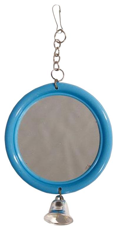 Игрушка для птиц Triol Зеркало с колокольчиком 061-КХ