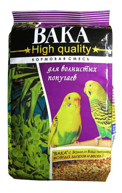 Основной корм Вака для волнистых попугаев