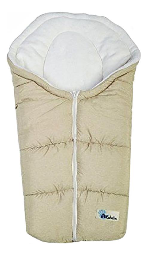 Купить Конверт-мешок для детской коляски Altabebe Alpin Pram & Car seat beige/whitewash,