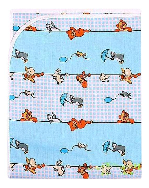 Пеленки для детей Мотылек К69 голубая