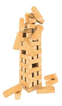 Настольная игра Spin master Дженга. Гигантская башня фото