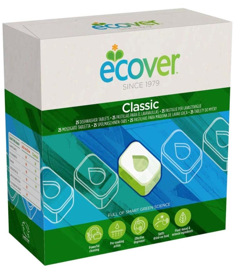 Таблетки для посудомоечной машины Ecover 500 г