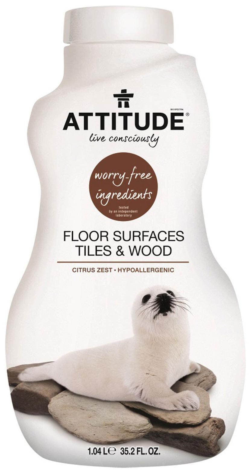 Универсальное чистящее средство для мытья полов Attitude чайное дерево и лайм 1.04 л