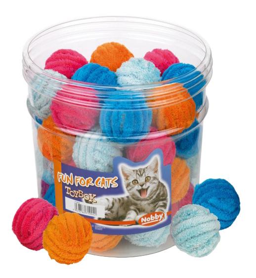 Мягкая игрушка для кошек Nobby, мяч клубок,