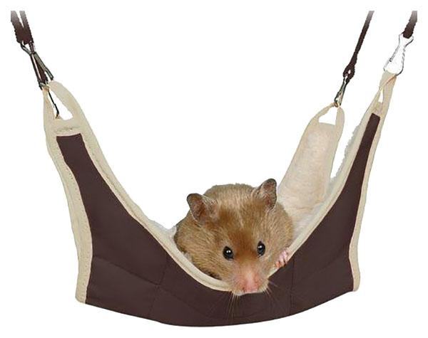Гамак для мышей, хомяков TRIXIE искусственный мех,