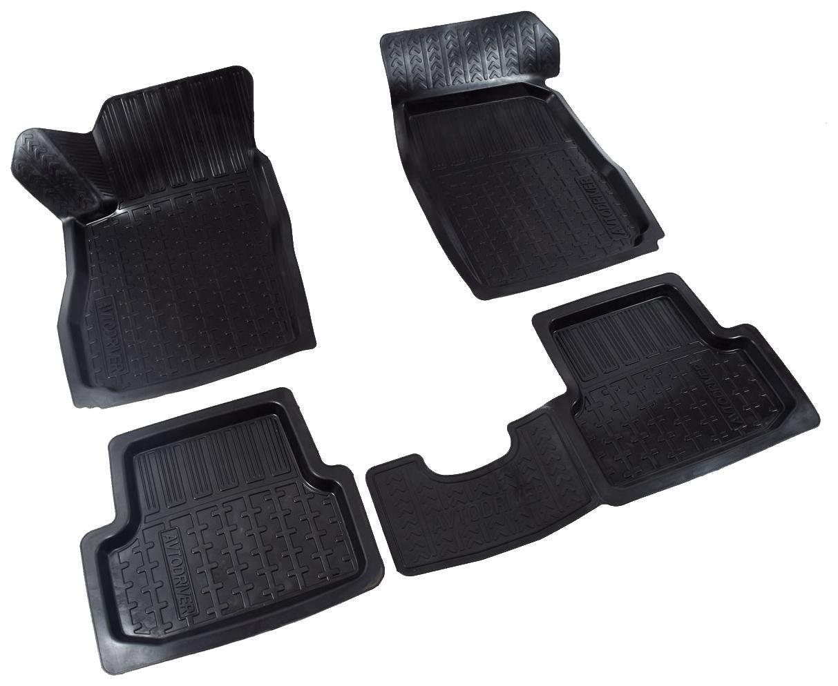 Комплект ковриков в салон автомобиля для Chevrolet, Ravon Nexia AVTODRIVER (ADRAVG271)