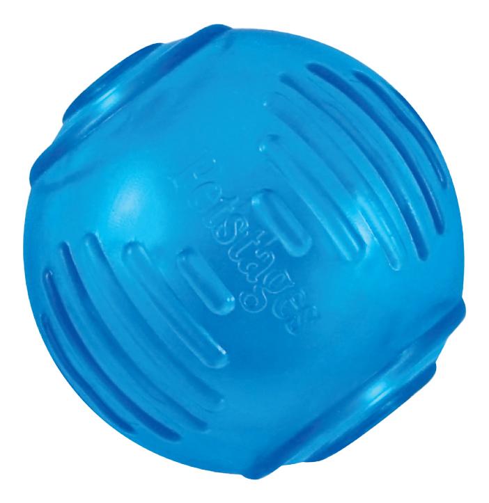 Мяч для собак Petstages ОРКА Теннисный мяч, синий, 6 см фото