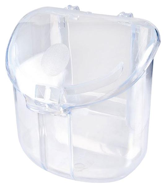 Кормушка для птиц IMAC, пластик, прозрачный 8х8,5х8,5