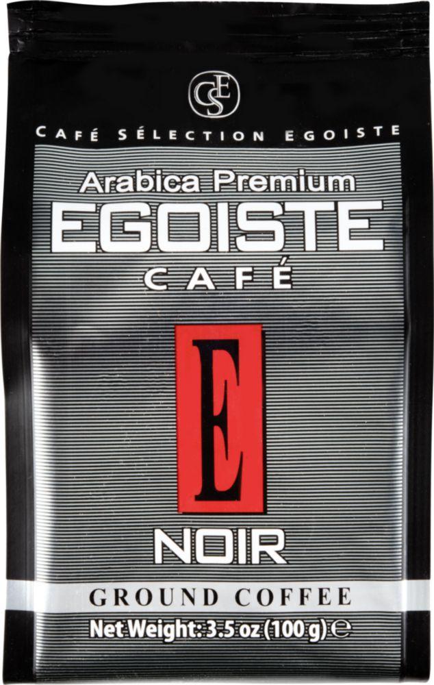 Кофе молотый Egoiste noir arabica premium 100 г фото