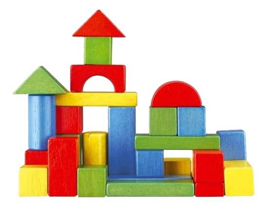 Купить Конструктор деревянный Mapacha Домик, Наша игрушка, Деревянные конструкторы