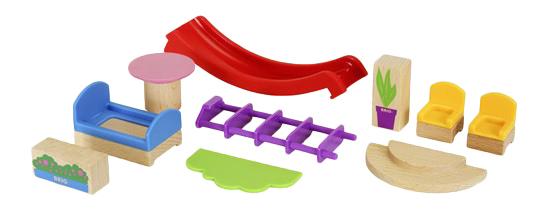 Купить Набор мебели для домиков деревянной железной дороги BRIO 33955, Игровые наборы