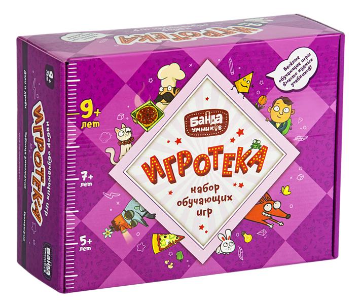 Купить Семейная настольная игра Банда Умников Игротека, Семейные настольные игры