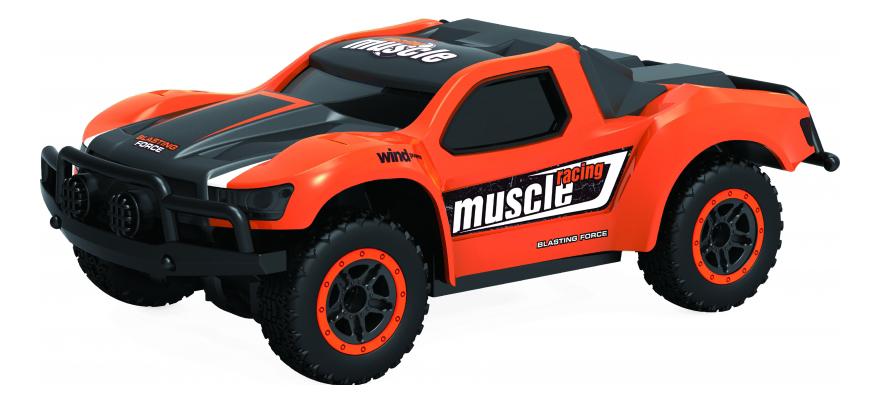 Радиоуправляемая машинка 1TOY Драйв 4WD оранжевая Т10939