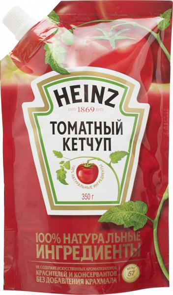 Кетчуп Heinz томатный 350 г