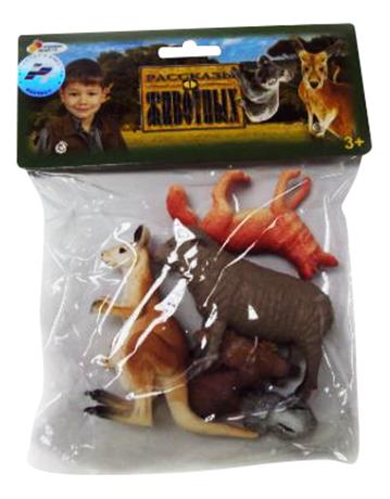 Купить Игровой набор Животные Австралии, 6 штук Играем вместе, Играем Вместе, Фигурки животных