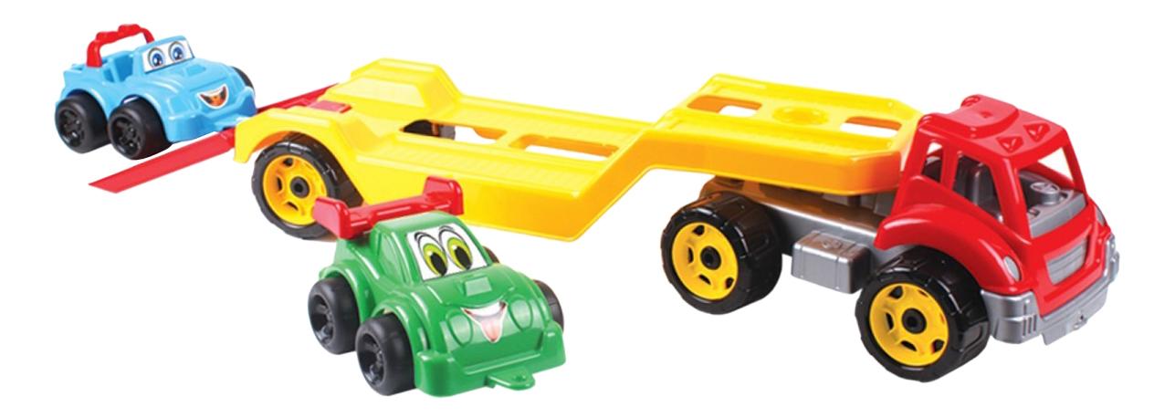 Игрушка Машина Автовоз Титан + Машинки, в коробке, ТЕХНОК фото