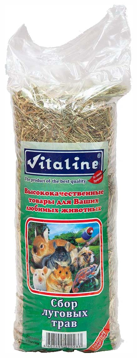 Сено для грызунов Vitaline Сбор луговых трав,