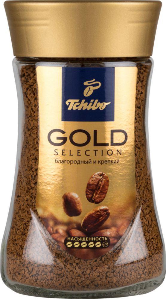 Кофе растворимый Tchibo gold selection сублимированный 190 г фото