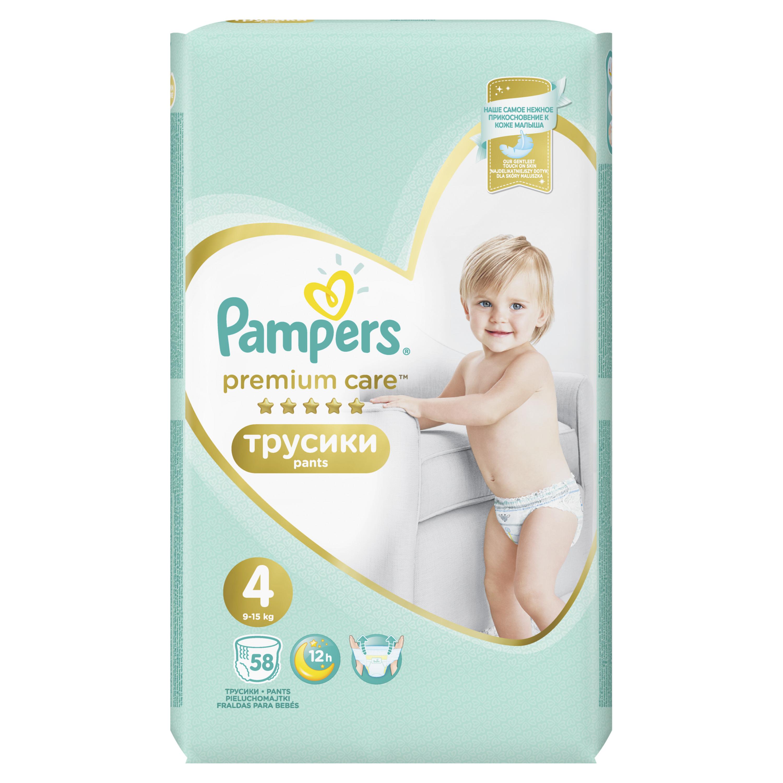 Трусики Pampers Premium Care 4 (9
